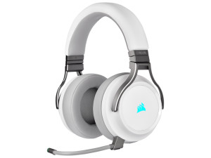 Corsair Virtuoso RGB Wireless High-Fidelity White Gaming Headset