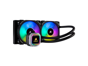 Corsair Hydro Series™ H100i RGB Platinum 240mm Liquid AIO Closed Loop CPU Cooler