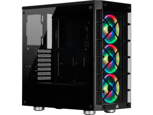Corsair 465X RGB Tempered Glass Black Mid Tower Smart Desktop PC Case