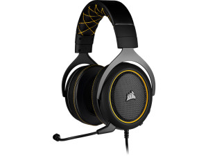 Corsair HS60 Pro Surround Black & Yellow Gaming Headset