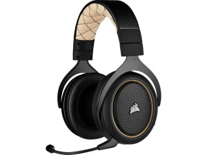 Corsair HS70 Pro Wireless Black & Cream Gaming Headset