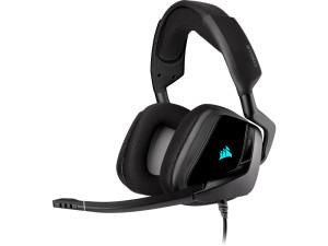 Corsair Void RGB Elite 7.1 Surround Sound Black USB Premium Gaming Headset