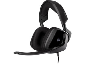 Corsair Void Elite Surround 7.1 Surround Sound Black Premium Gaming Headset