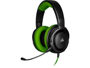 Corsair HS35 Black & Green Wired Stereo Gaming Headset