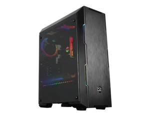 Raidmax Attila ARGB Tempered Glass Black Mid Tower Desktop PC Case