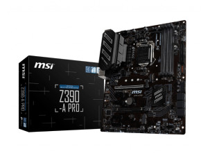 MSI Z390-A Pro Intel 1151 Socket ATX Desktop Motherboard
