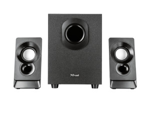 Trust Argo 2.1 Stereo USB Powered Black PC Speaker Set With Sub-Woofer