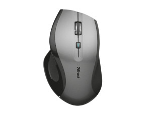 Trust MaxTrack Optical Ergonomic Black Wireless Mouse