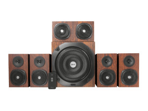 Trust Vigor 5.1 Surround Brown Speaker System