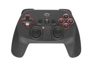 Trust GXT 545 Yula PC & Playstation 3 Black & Red Wireless Gamepad