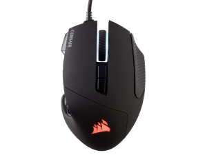 Corsair Scimitar RGB Elite Optical Black Wired Gaming Mouse