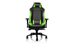 Thermaltake GT Comfort Black & Green Ergonomic Reclining Gaming Chair