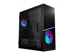 MSI MPG Sekira 500X ARGB Tempered Glass Black Mid Tower Desktop PC Case