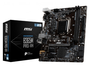 MSI B365M Pro-VH Intel 1151 Socket Micro ATX Desktop PC Motherboard