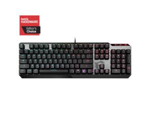 MSI Vigor GK50 Kailh Low Profile Switch RGB Brushed Aluminium Wired Mechanical Gaming Keyboard