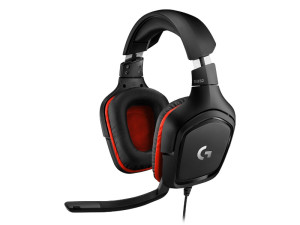 Logitech G332 Stereo Black & Red Wired Gaming Headset