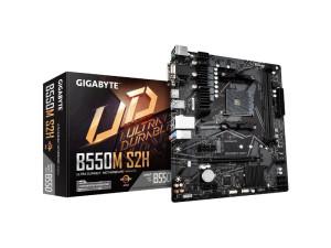 Gigabyte B550M S2H AMD AM4 Socket Micro ATX Desktop Motherboard