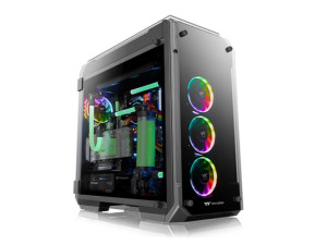 Thermaltake View 71 TG RGB Plus Edition Black Full Tower Desktop PC Case