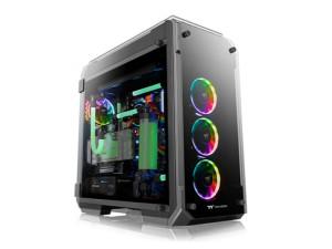Thermaltake View 71 TG RGB Plus Edition Black Full Tower Desktop PC Case