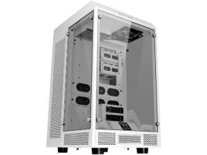 Thermaltake The Tower 900 Snow Edition Tempered Glass White Steel Full Tower Desktop PC Case