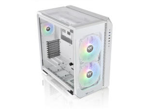 Thermaltake View 51 TG Windowed White Snow ARGB Edition Full Tower Desktop PC Case