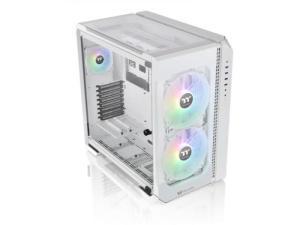 Thermaltake View 51 TG Windowed White Snow ARGB Edition Full Tower Desktop PC Case