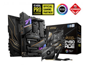 MSI MEG Z490 ACE Intel LGA 1200 ATX Desktop Gaming Motherboard
