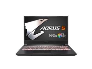 Gigabyte Aorus 5 MB – i5-10200H, 8GB, GTX 1650Ti, 512GB SSD, 15.6'' FHD 144Hz, Windows 10 Home Laptop