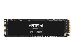 Crucial P5 1TB 3D PCIe Gen 3.0 NVMe M.2 SSD
