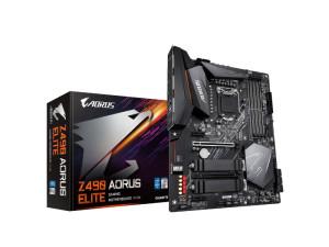 Gigabyte Z490 Aorus Elite LGA1200 Socket ATX Desktop Motherboard