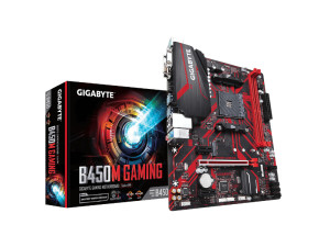 Gigabyte B450M Gaming AMD AM4 Socket Micro-ATX Desktop Motherboard