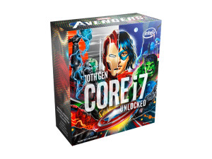 Intel Core i7-10700K Marvel Avengers Special Edition 8C/16T 5.1GHz Boost Comet Lake Desktop Processor + FREE Avengers Game Code