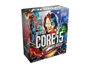 Intel Core i5-10600K Marvel Avengers Special Edition 6C/12T 4.8GHz Boost Comet Lake Desktop Processor + FREE Avengers Game Code