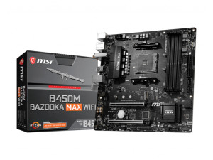 MSI B450M BAZOOKA MAX WIFI AMD AM4 Socket Desktop Motherboard