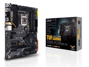 Asus TUF Gaming Z490-PLUS (WiFi) Intel 1200 Socket ATX Desktop Motherboard