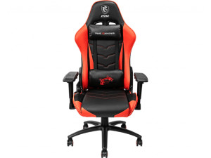 MSI MAG CH120 Reclining Ergonomic Black and Red Gaming Chair