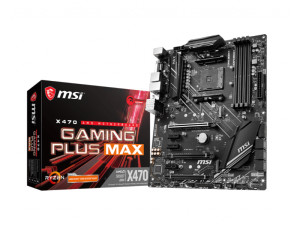 MSI X470 GAMING PLUS MAX AMD AM4 Socket ATX Desktop Motherboard