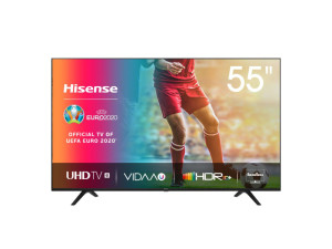 Hisense 55'' 4K UHD Smart TV with WiFi for built in Netflix, DSTV Now, YouTube and Showmax