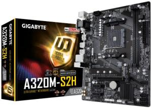 Gigabyte A320M-S2H AMD AM4 Socket Desktop Motherboard