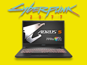 Gigabyte Aorus 5 KB - i7-10750H, 16GB, RTX 2060, 512GB SSD, 15.6'' 144Hz, Windows 10 Home, Gaming Laptop