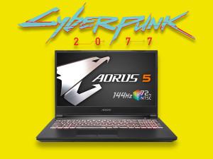 Gigabyte Aorus 5 KB - i7-10750H, 16GB, RTX 2060, 512GB SSD, 15.6'' 144Hz, Windows 10 Home, Gaming Laptop