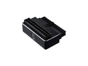 Cooler Master 24 Pin Motherboard 90 Degree Universal Motherboard Adapter