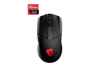 MSI Clutch GM41 Lightweight RGB Ambidextrous Black Wireless Gaming Mouse