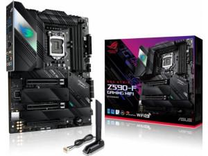 Asus ROG STRIX Z590-F GAMING WIFI Intel LGA1200 Socket ATX Desktop Motherboard