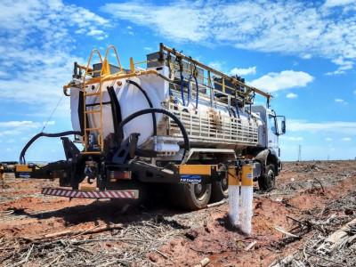 Automated Triple irrigator machine - FMCopling