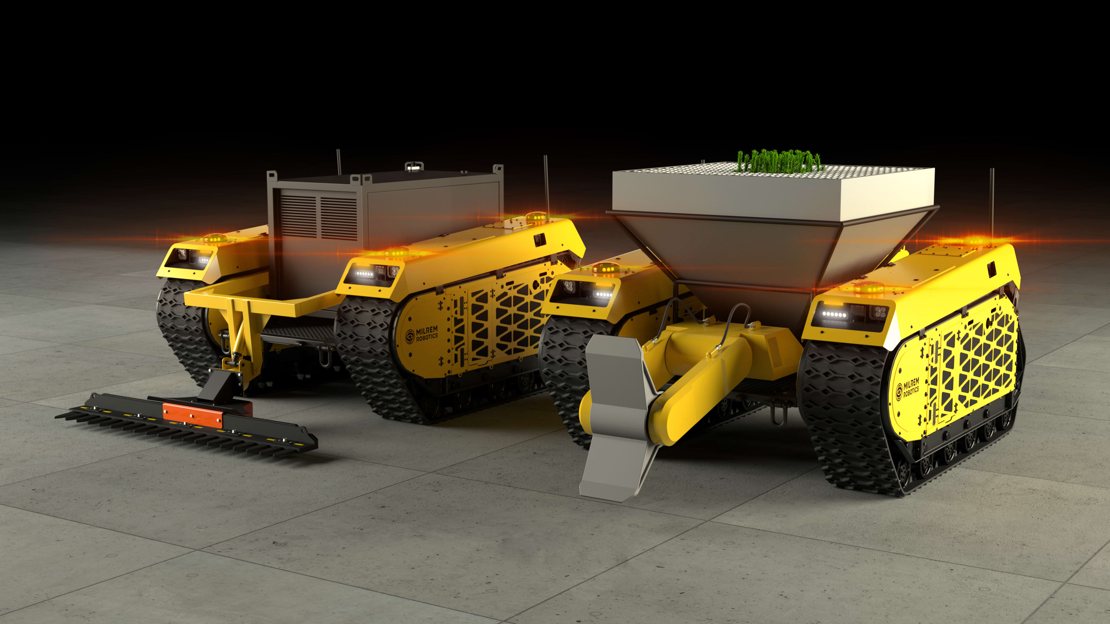 Future of planting with the Robotic Forester