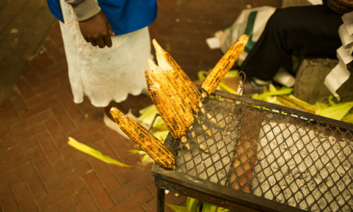 Food tour of Joburg neighbourhood