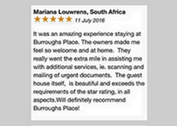 Guest Review - Marianna