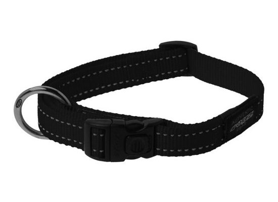 Dog Collar - Medium - Black
