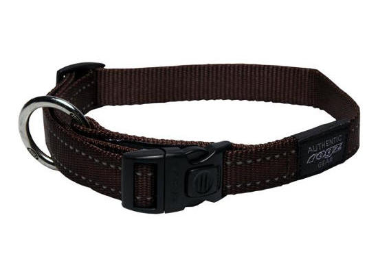 Dog Collar - Medium - Chocolate